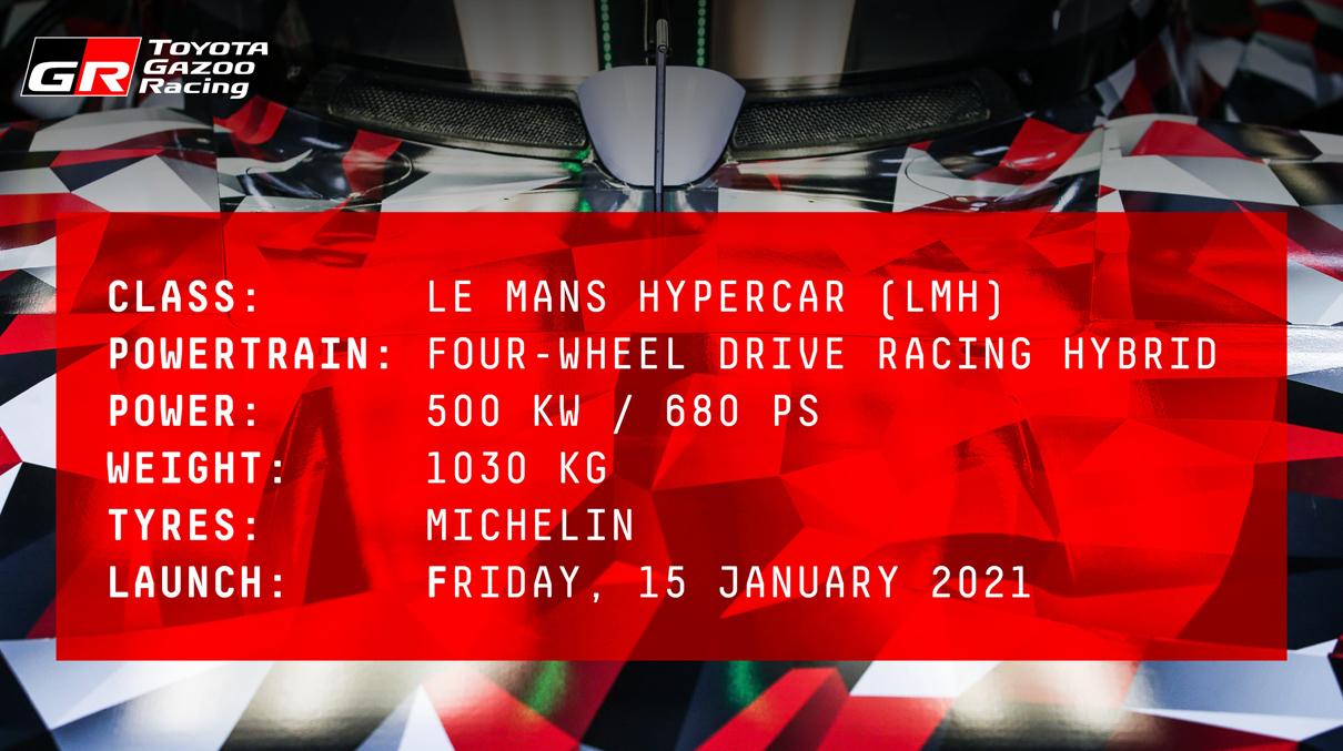 トヨタがル・マン24時間レースに参戦するためのハイパーカーを発表予告