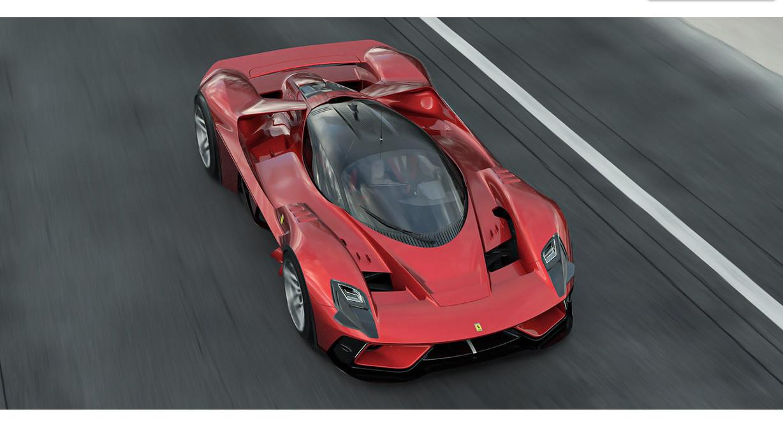 フェラーリのコンセプトカー、F399