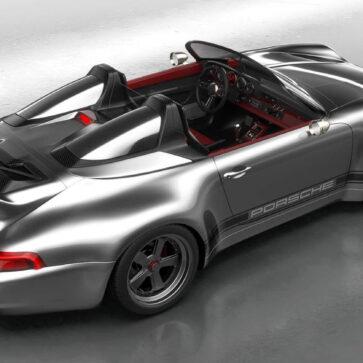 993型ポルシェ911しか愛せないチューナーが贈る「993スピードスター・リマスタード」