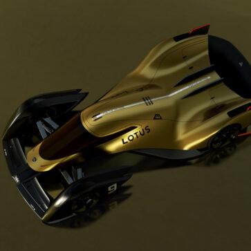 ロータス公式!2030年の耐久レースを想定した「E-R9」公開