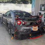世界で最も醜いカスタムだと言われる日産R35 GT-R(中国)