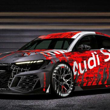 アウディRS3 LMS(レーシングカー)