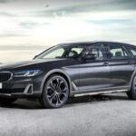 BMW 5シリーズワゴンのオフロード風
