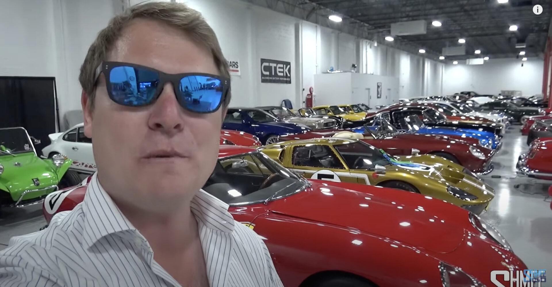 その総額は数百億円?過去から現代に至るまで名車、レアカー、スーパーカーを取り揃える驚異のショップ