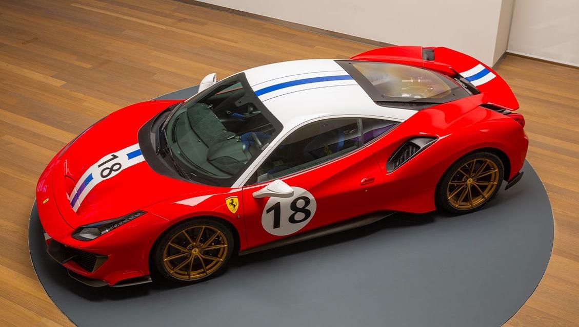 フェラーリが公式にて488ピスタ3台のカスタムを公開