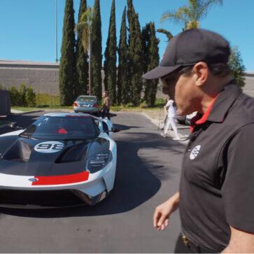 あの米富豪に特別仕様のフォードGTが納車される