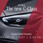 新型メルセデス・ベンツCクラスのティーザー画像公開