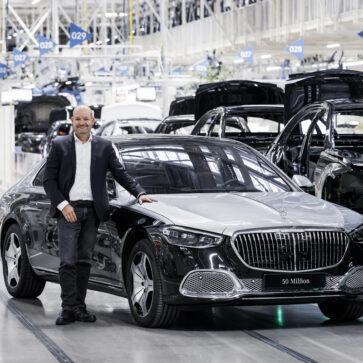メルセデス・ベンツが「累計5000万台を生産した」と発表