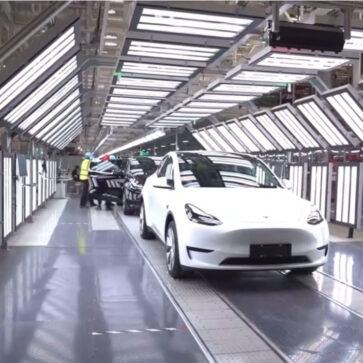 中国で生産されるテスラ・モデル3