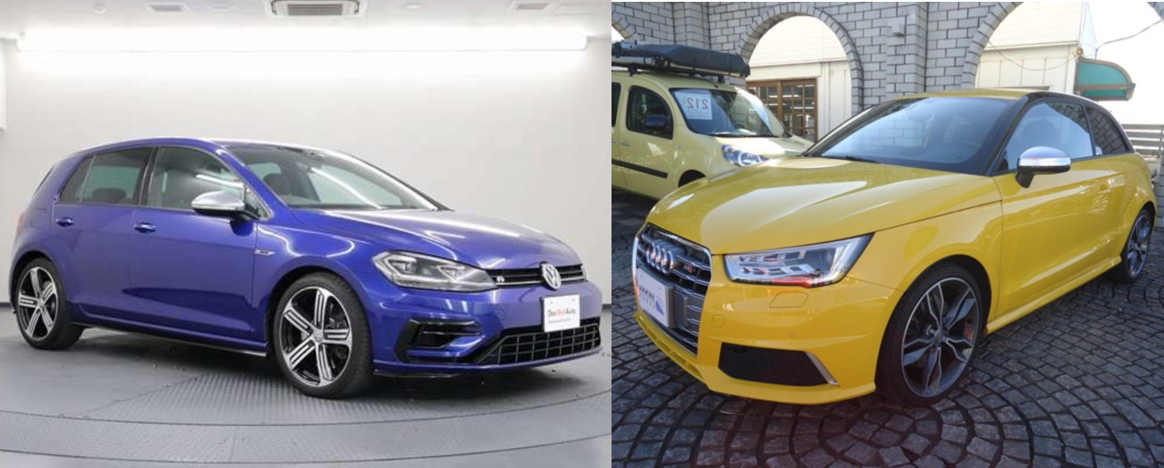 フォルクスワーゲン・ゴルフとアウディS1の中古車購入検討