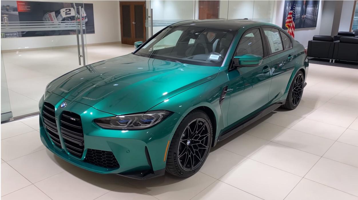 新型BMW M3の内外装詳細&走行レビュー登場