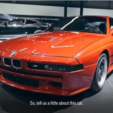生産されたのはわずか1台!1990年当時、BMWが「高価すぎて販売できない」と判断しお蔵入りとなったM8プロト