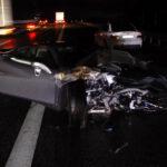 フェラーリF8トリブートの事故