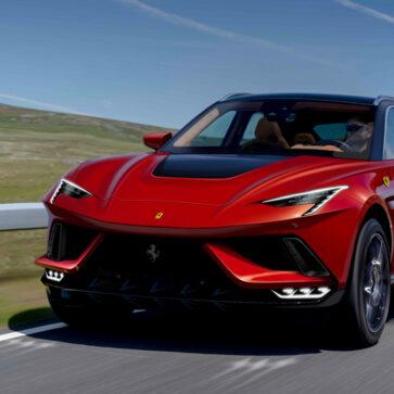 フェラーリの新型SUV、プロサングエ