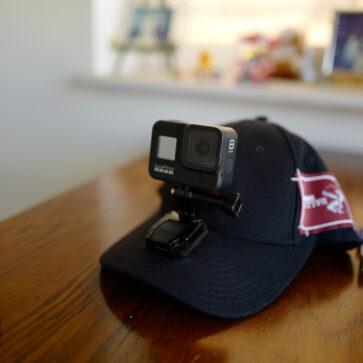 動画撮影用デバイスを2つ改良!「1.バリーのキャップにGoProマウントをボルト留め」