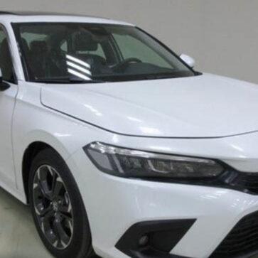 新型ホンダ・シビックの生産モデル画像が中国経由でリーク