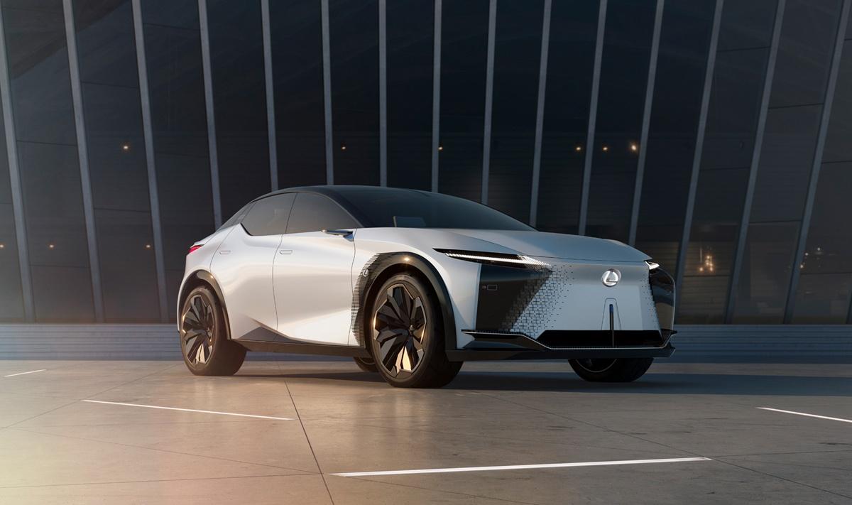 レクサスが「2025年までに実現を目指す」とされる新型コンセプト、LF-Z Electrified発表