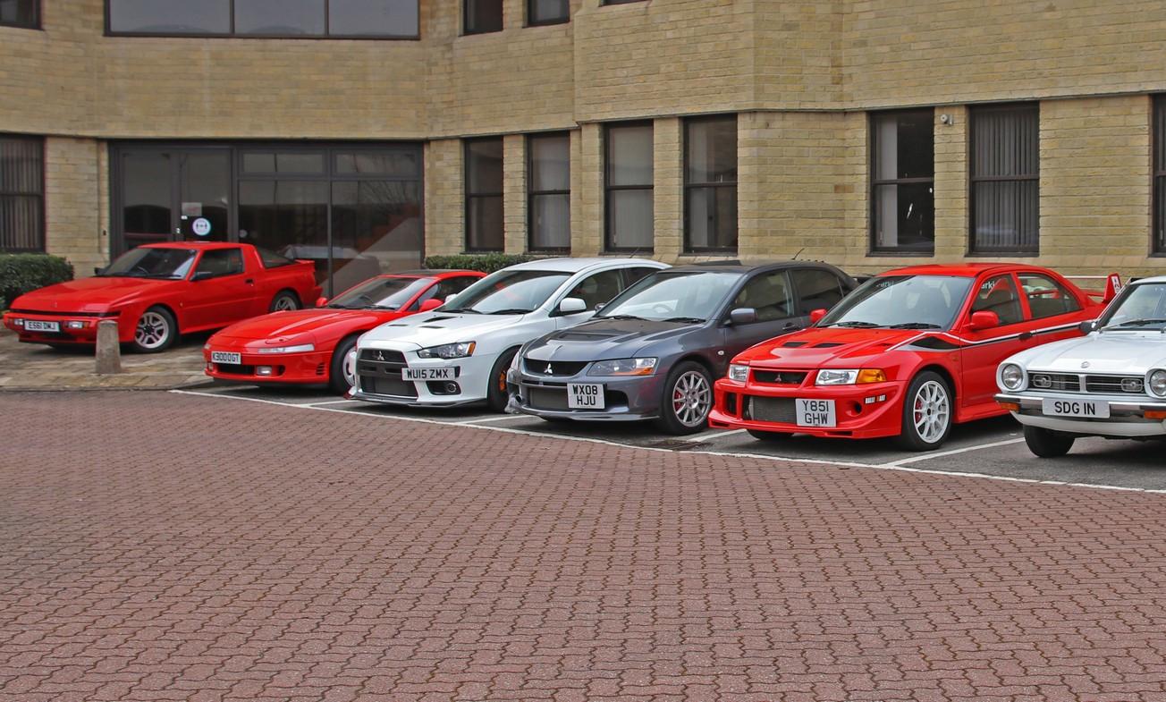 三菱の英国法人が歴史的に価値の高い車両14台を競売へ!ランエボ限定モデルに加え、ジープ、そしてワンオフのカスタムカーも