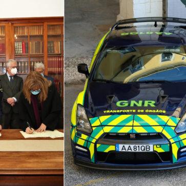 ポルトガル警察が日産GT-Rを導入