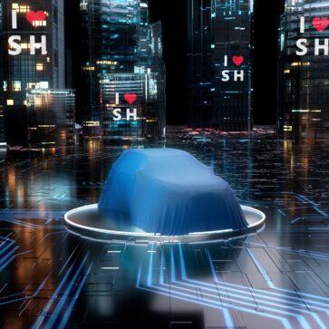 トヨタが上海MSにて公開する新型エレクトリックSUVのティーザー画像を公開