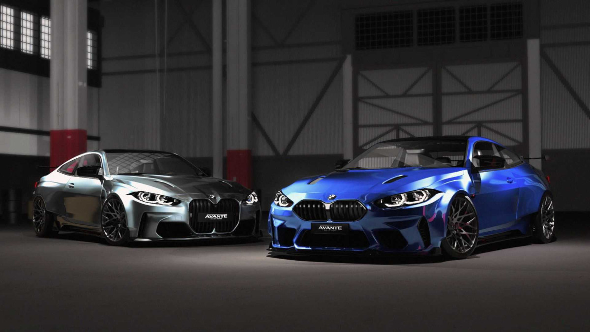 新型BMW M4のワイドボディキット