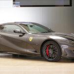 ガンメタルにシルバーストライプ!フェラーリが自社にてカスタムした渋い812スーパーファストを公開