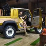 欧州にてスズキ・ジムニー「ロングホイールベース」試作車が目撃