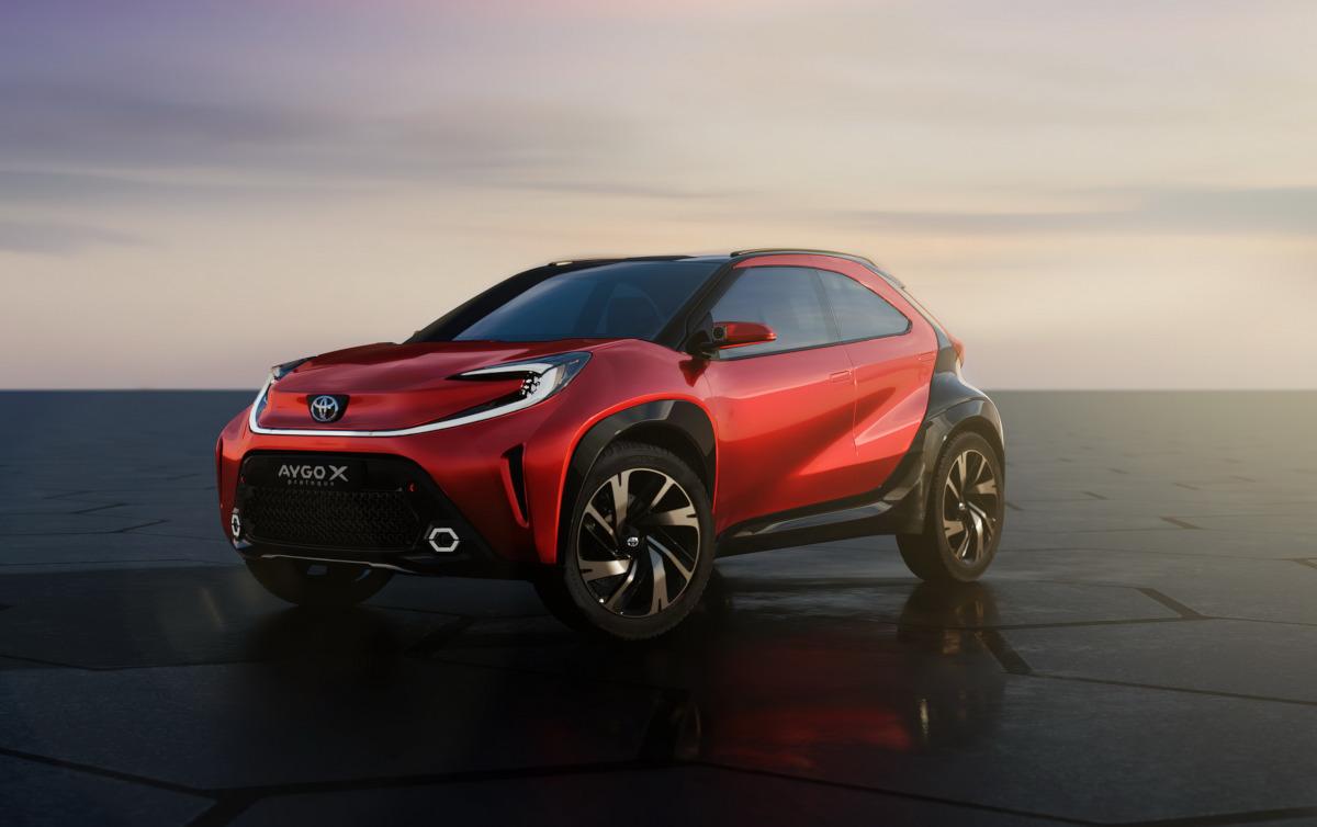 トヨタがコンパクトクロスオーバー「アイゴX プロローグ・コンセプト」発表