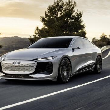 アウディが中国向けにデザインを調整し、「ニュルッとした」A6 e-tronコンセプトを公開