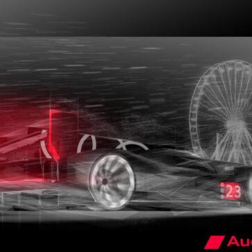 アウディがル・マン復帰に際し「新型レーシングカー(R18後継)」のイメージスケッチを公開