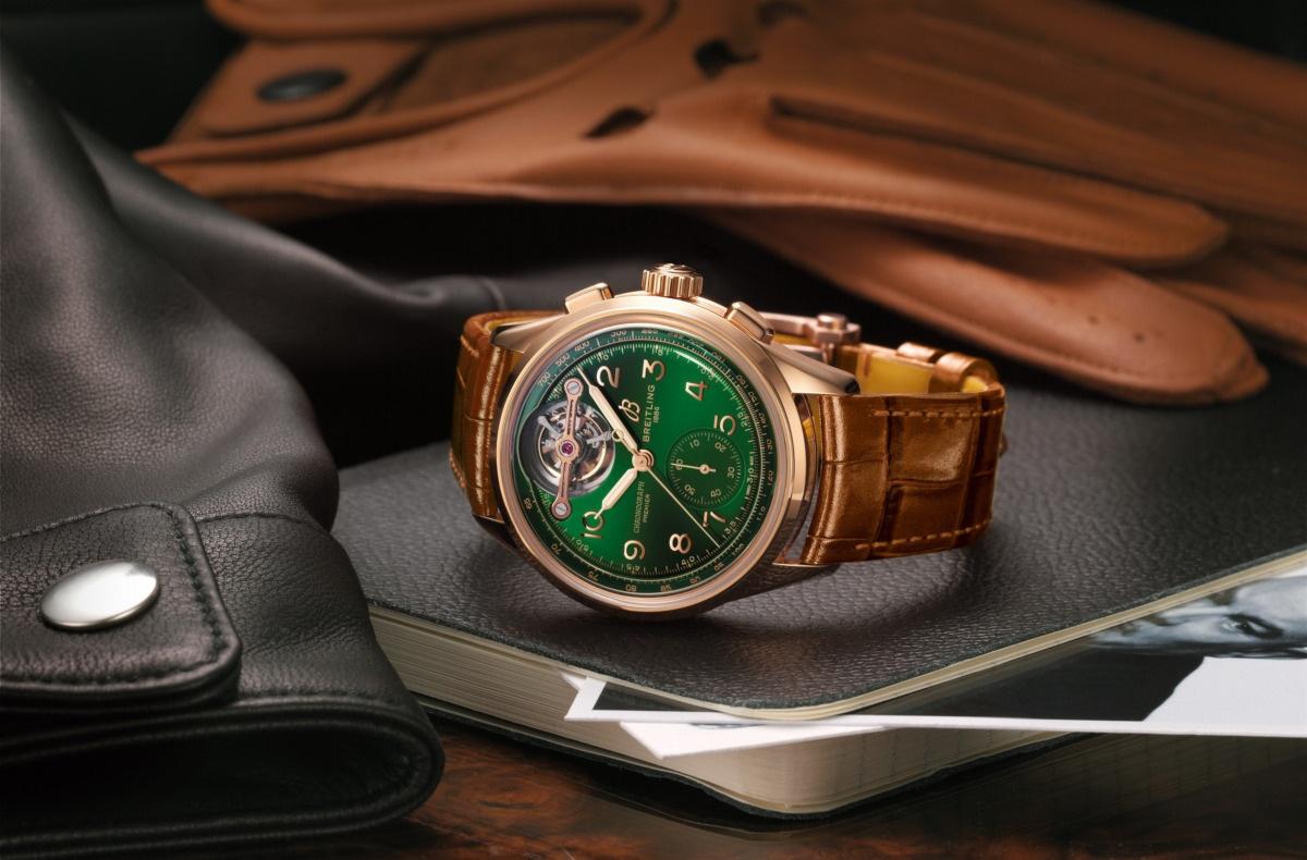 ブライトリングとベントレーのコラボ腕時計、プレミエB21クロノグラフ・トゥールビヨン42 ベントレー・リミテッドエディションが25本限定発売