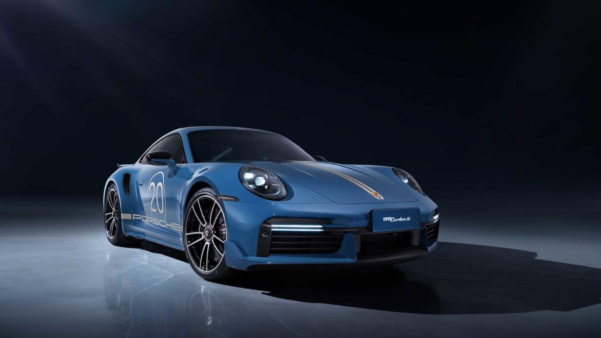 ポルシェが中国展開20周年を記念し「911ターボS チャイナ 20th エディション」を限定発売