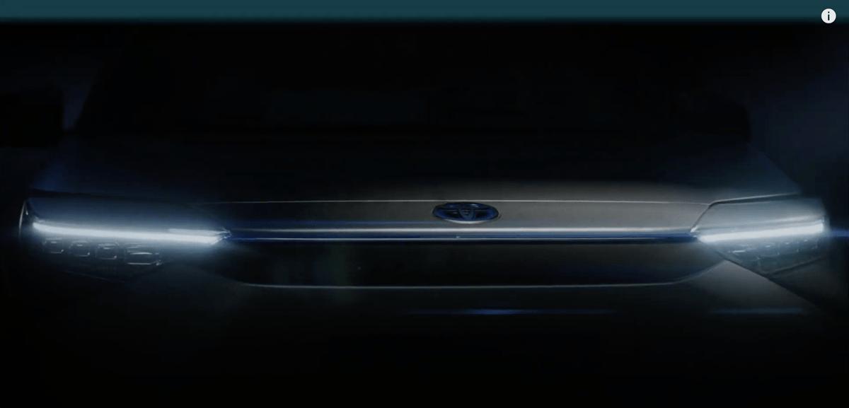 トヨタが「中国でワールドプレミアする」新型エレクトリックSUVのティーザー動画を公開