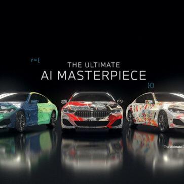 BMWのアートカー