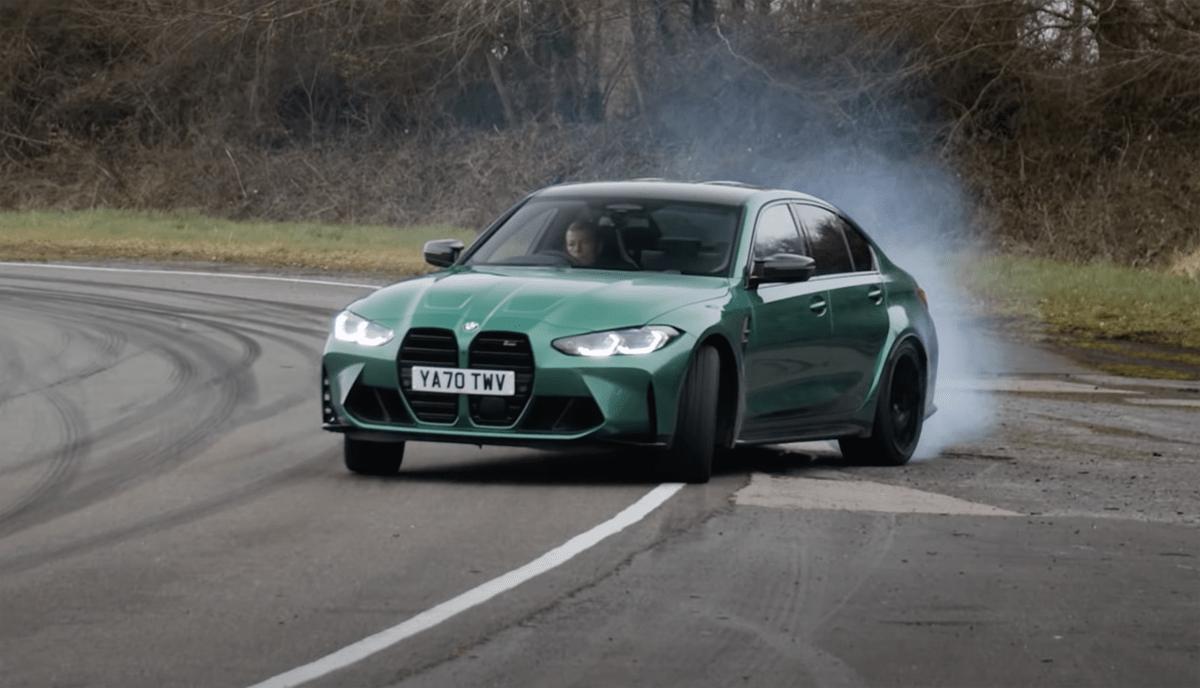 BMW M3には「ドリフトアナライザー」が備わる
