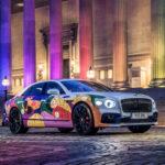 ベントレーがフライングスパーのアートカーを発表
