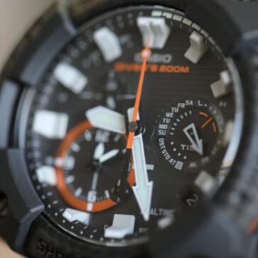 カシオG-SHOCK最新モデル、アナログフロッグマンGWF-A1000
