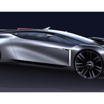 キャデラックのデザイナーが魅力的な「4シータースポーツ」コンセプトを公開
