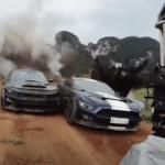 「ワイルド・ スピード/ジェットブレイク」のカースタントそして撮影シーン総集編が公開