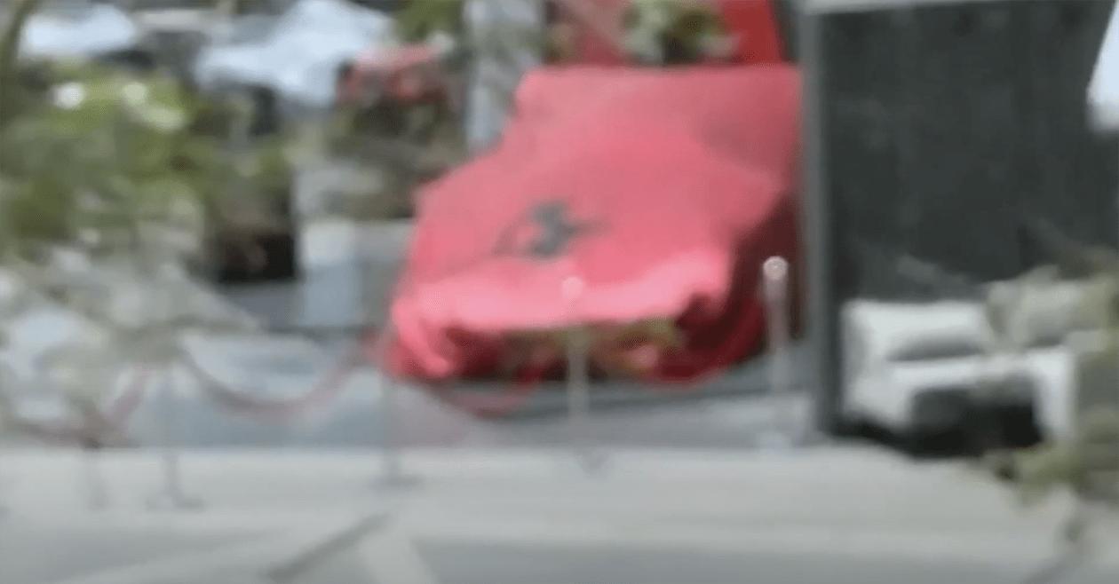 アブダビにてワンオフフェラーリが公開?