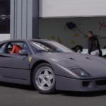 マットグレーのフェラーリF40