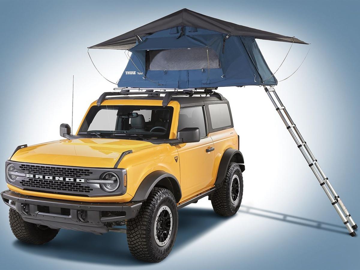 フォードはブロンコに200以上のオプションを追加