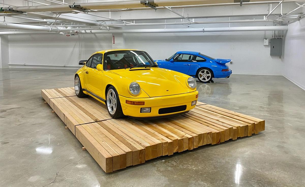 ピーターセン自動車博物館にて「ルーフ(RUF)」のみの展示が開始