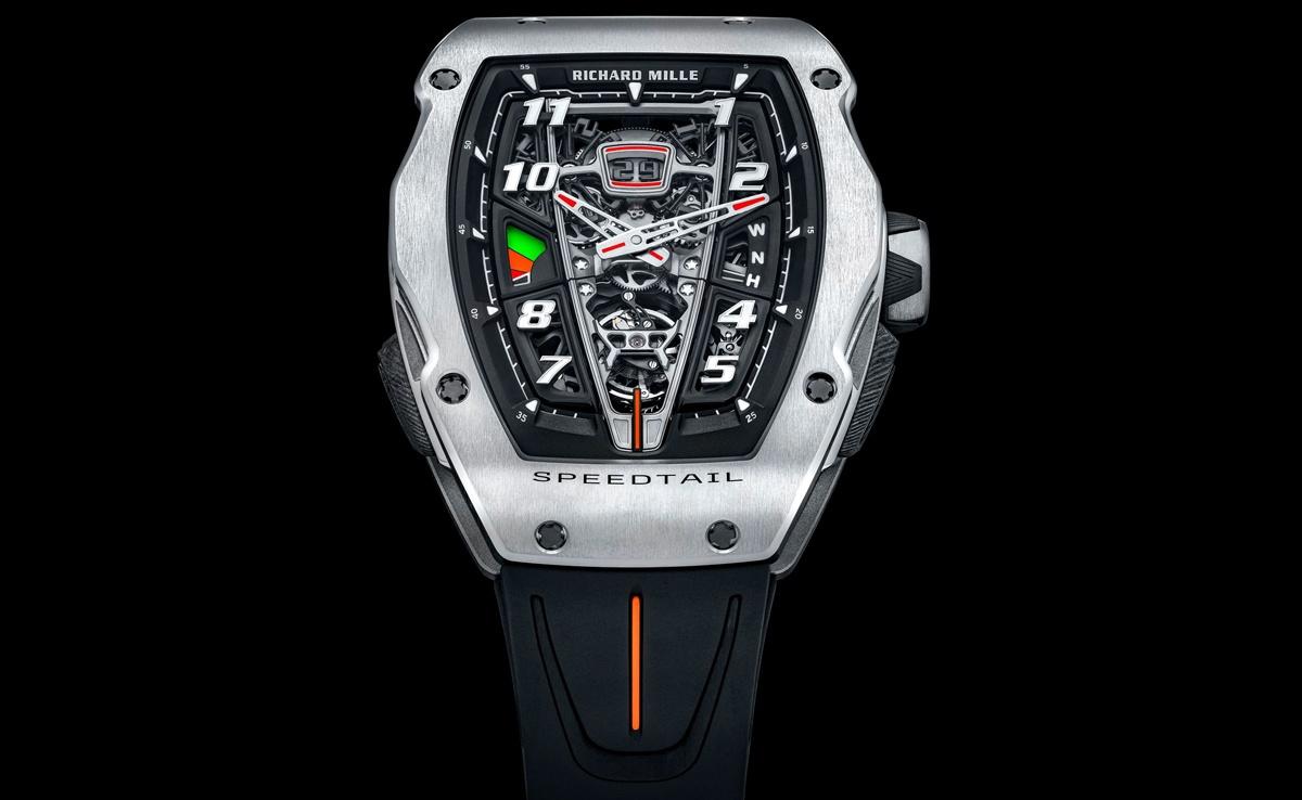リシャールミルがマクラーレン・スピードテールとのコラボ腕時計を発表
