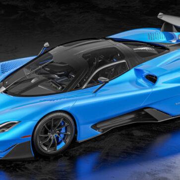 世界最速ハイパーカー、SSCトゥアタラにハイパフォーマンスな「ストライカー」「アグレッサー」追加