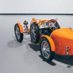 ブガッティ初のエレクトリックモデル「Baby II」第一号がドバイ国際空港に納車