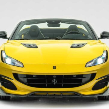 マンソリーがフェラーリ・ポルトフィーノの外装を鍛造カーボンにてドレスアップ