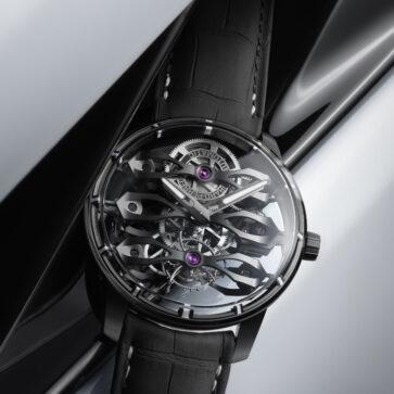 その価格1580万円!アストンマーティンとジラール・ペルゴとのコラボ腕時計第一弾「スリー・フライング・ブリッジ・トゥールビヨン」登場