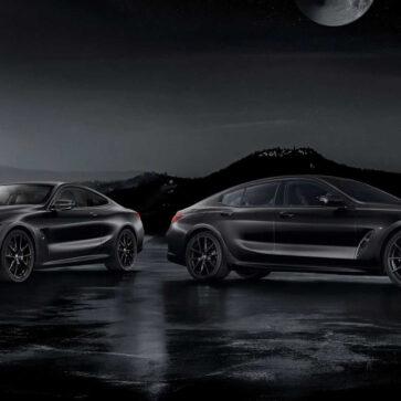 ボディカラーはマットブラック、ホイールやブレーキ、内装も真っ黒な「8シリーズ・フローズン・ブラック・エディション」が20台のみ発売