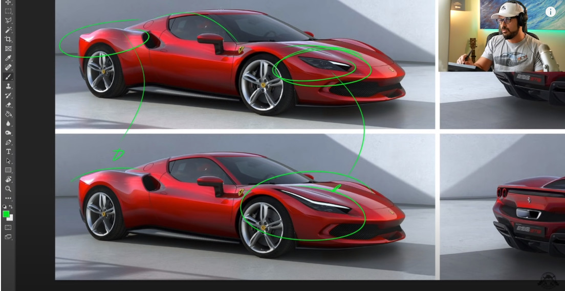 フェラーリ296GTBのデザインは評判がイマイチ?「テールランプがサングラス」「オーバーデザイン」